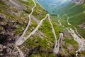 Trollstigen mountain road in Norway - PhotoDune Item for Sale