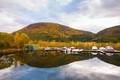 view on small marina on Hitra island, Norway - PhotoDune Item for Sale