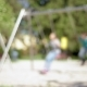 Children on Swings at Playground - VideoHive Item for Sale