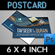 Islamic Postcard Template - GraphicRiver Item for Sale