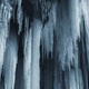 Frozen waterfall in cold winter ice background - PhotoDune Item for Sale