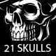 Set of Vintage Skulls. - GraphicRiver Item for Sale