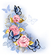 Three Pink Roses - GraphicRiver Item for Sale
