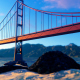 Golden Gate On The Ocean - VideoHive Item for Sale