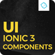 Ionic 3 UI Theme/Template App - Material Design - Yellow Dark - CodeCanyon Item for Sale