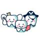 Happy teeth buddies