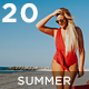 20 Summer Vibes Lightroom Presets + VSCO - GraphicRiver Item for Sale