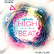 High Beats Party Flyer-Graphicriver中文最全的素材分享平台