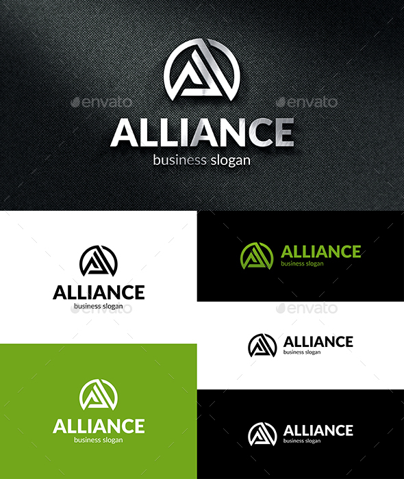 A Alliance Logo - Letters Logo Templates