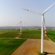 Aerial Wiev of Windmills Farm. Power Energy Production - VideoHive Item for Sale