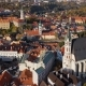 Aerial Panorama of Cesky Krumlov Old Town - VideoHive Item for Sale