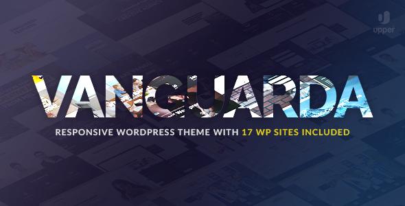 Vanguarda - Responsive Multi-Purpose WordPress Theme