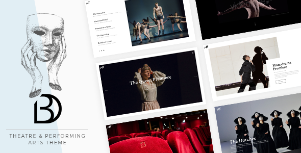Bard – A Theatre and Performing Arts Theme