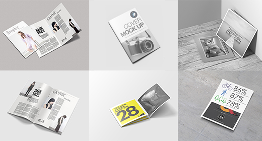 All Types Brochure Mockups