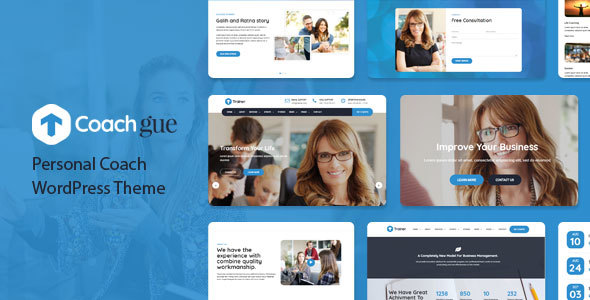 Coachgue - Personal Coach WordPress Theme