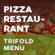Pizza Restaurant Trifold Menu 3 - GraphicRiver Item for Sale