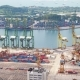 Mooring in Container Terminal Singapore - VideoHive Item for Sale