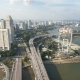 Singapore Cityscape Highway Traffic - VideoHive Item for Sale
