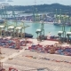 Loading and Unloading of the Vessel in Port Singapore - VideoHive Item for Sale