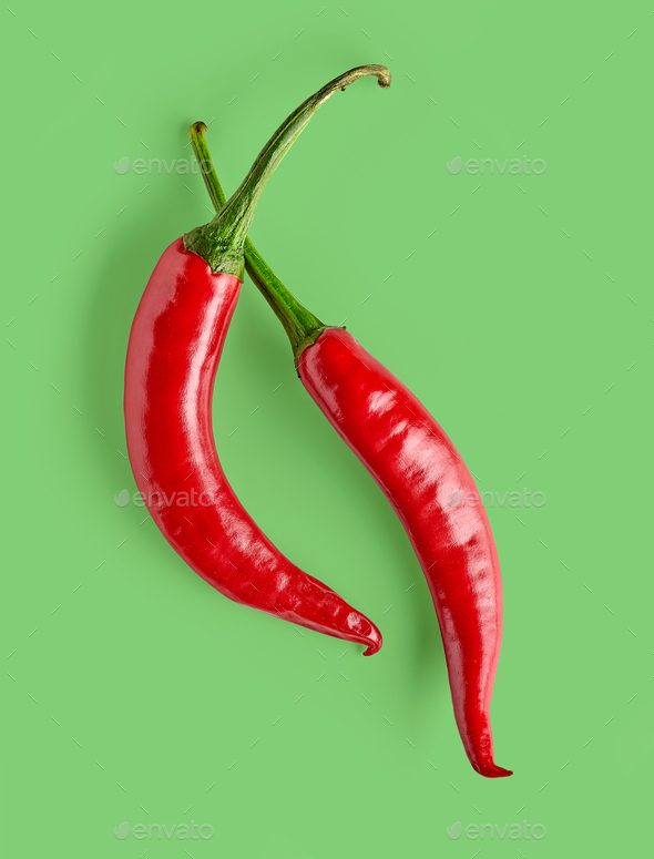 red hot chili pepper - Stock Photo - Images