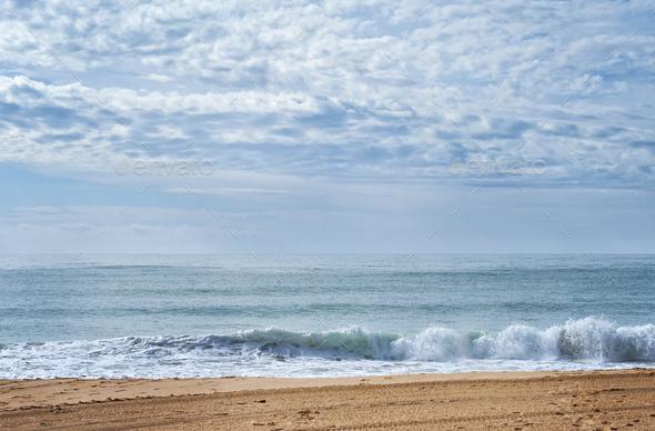beach of Portimao - Stock Photo - Images