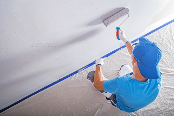 Remodeling and Painting - Stock Photo - Images