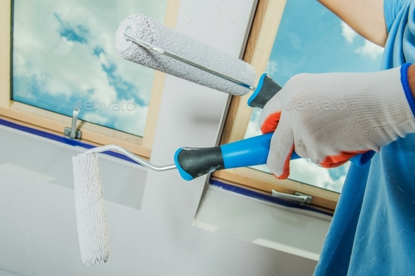 Room Painting Tools - Stock Photo - Images