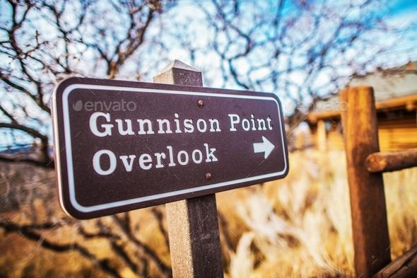 Gunninson Point Overlook - Stock Photo - Images