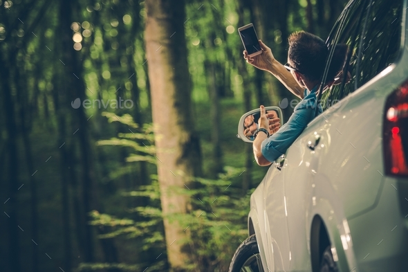 Looking For Cellphone Signal - Stock Photo - Images