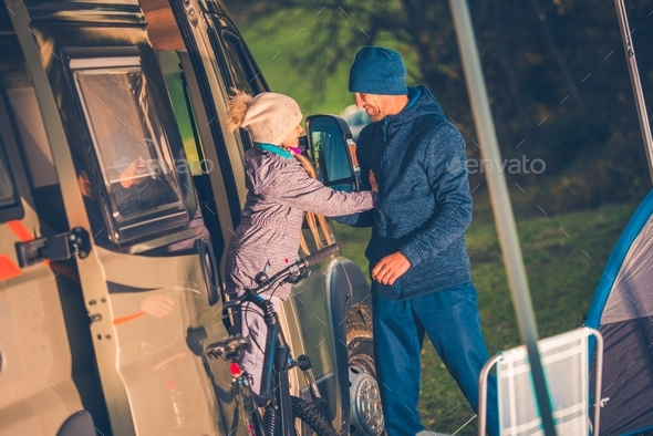 Vacation Camper Van Travel - Stock Photo - Images