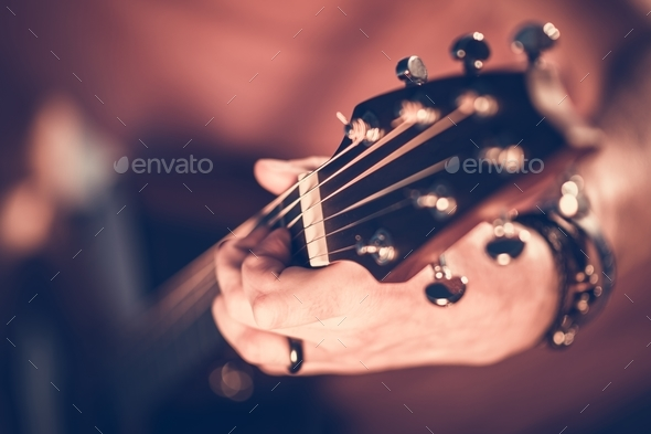Rock Guitar Player - Stock Photo - Images