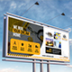 Construction Firm Billboard Template