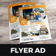 Corporate Multipurpose Flyer Ad Design v10 - GraphicRiver Item for Sale