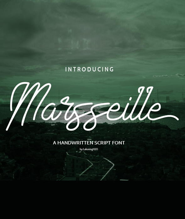 Marsseille - Hand-writing Script