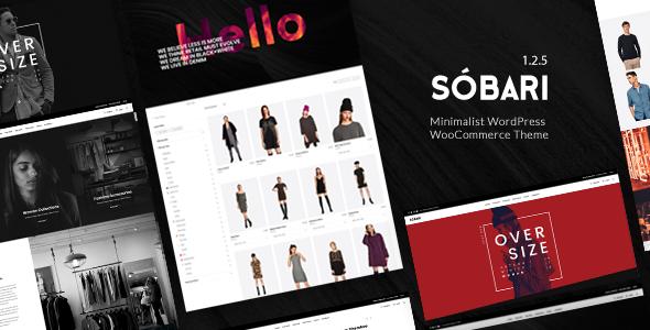 Sobari – Minimalist WordPress WooCommerce Theme - WooCommerce eCommerce