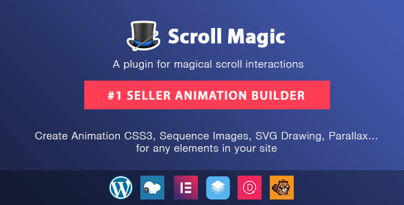 Scroll Magic - Scrolling Animation Builder Wordpress Plugin - CodeCanyon Item for Sale