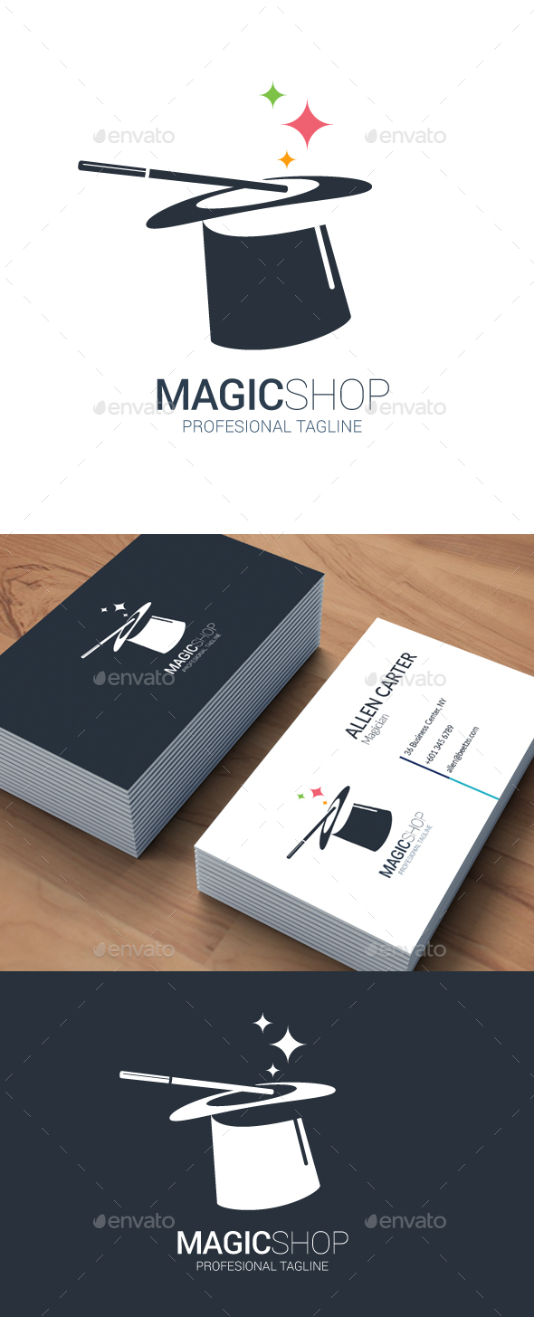 Magic Shop Logo - Objects Logo Templates