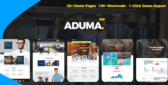 Image of Aduma - Consulting, Finance, Business WordPress Theme