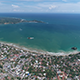 Flying into a Tropical Bay - VideoHive Item for Sale