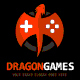 Dragon Games Logo Template - GraphicRiver Item for Sale