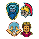 Roman and Greek Heroes Mascot Collection - GraphicRiver Item for Sale