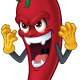 Cartoon Chili Character - GraphicRiver Item for Sale