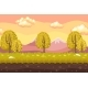 Cartoon Seamless Landscape Background - GraphicRiver Item for Sale