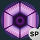VJ Loops Neon Hexagon Lights - VideoHive Item for Sale