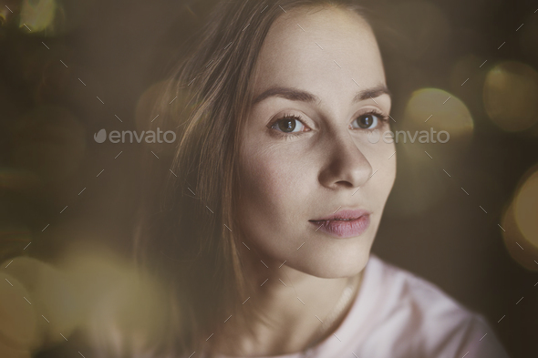 Young attractive woman - Stock Photo - Images