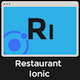 Restaurant Ionic 3 - Full Application with Firebase backend - CodeCanyon Item for Sale