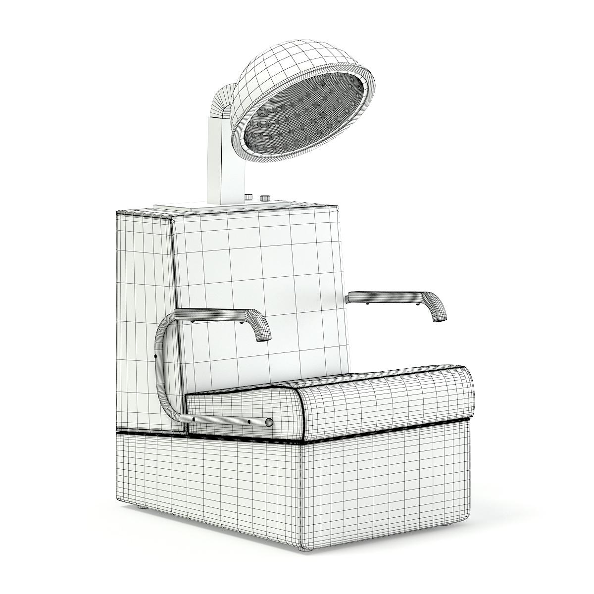 Hairdryer Chair 3D Model