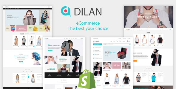 Image of Dilan - Fashion Shopify Theme + RTL