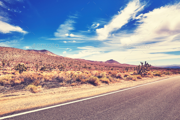 Scenic road, travel concept. - Stock Photo - Images