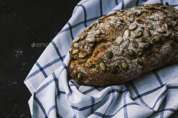 Handmade bread - Stock Photo - Images